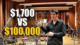 $1700 vs. $100000 Microphone Setup? - Warren Huart: Produce Like A Pro