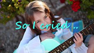 Anna Graceman So I Cried - Lyrics