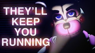 "FNAF SISTER LOCATION SONG | ""They'll Keep You Running"" by CK9C [Official SFM]"