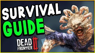 Dead Frontier 2 - SURVIVAL GUIDE! Beginners Guide & Tutorial - How To Survive (DF2 Gameplay)