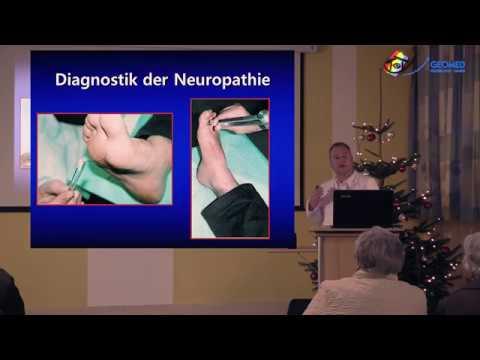 Behinderung bei Hypertonie und Diabetes