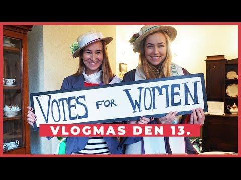 VLOGMAS Den 13. | Kdo pomohl ženám k rovnoprávnosti?