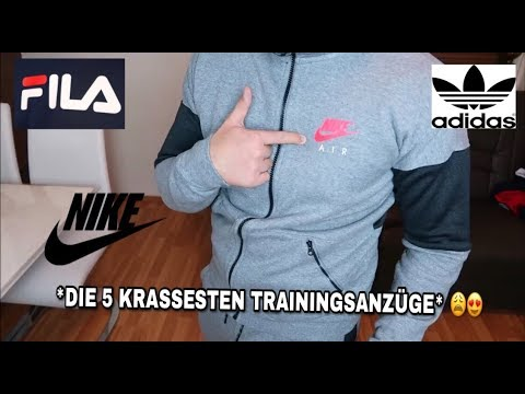 DIE 5 KRASSESTEN TRAININGS-ANZÜGE !! 😩😍