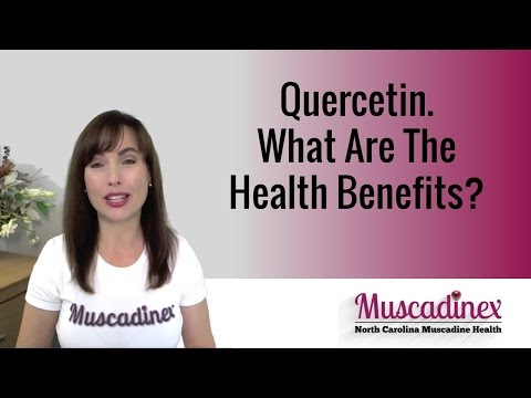 Video Quercetin. What Are The Health Benefits?