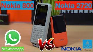 Nokia 800 Tough & Nokia 2720 Flip - Nokia Feature Phones - Review
