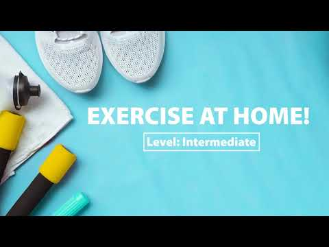 ​Let's Exercise at Home! (Intermediate)
