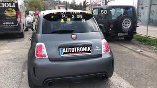 Fiat Abarth 595 Competizione Stage 2 Pop&Bang Decat