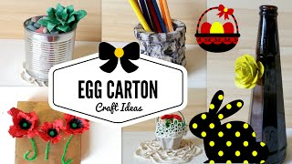 DIY  Egg Cartons Crafts Ideas & Hacks   Recycling Project Best Out Of Waste   By Fluffy Hedgehog