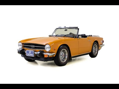 Video of '76 TR6 - LUPH