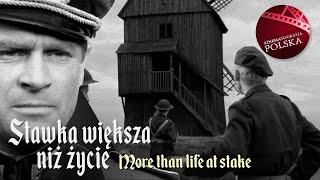 STAWKA WIĘKSZA NIŻ ŻYCIE odcinek 13 | Hans Kloss | kultowe polskie seriale | angielskie napisy