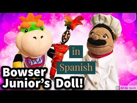 (Spanish Version) SML Movie: Bowser Junior's Doll! (видео)