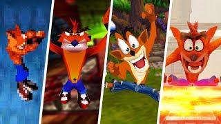 Evolution Of The Jump In Crash Bandicoot Games