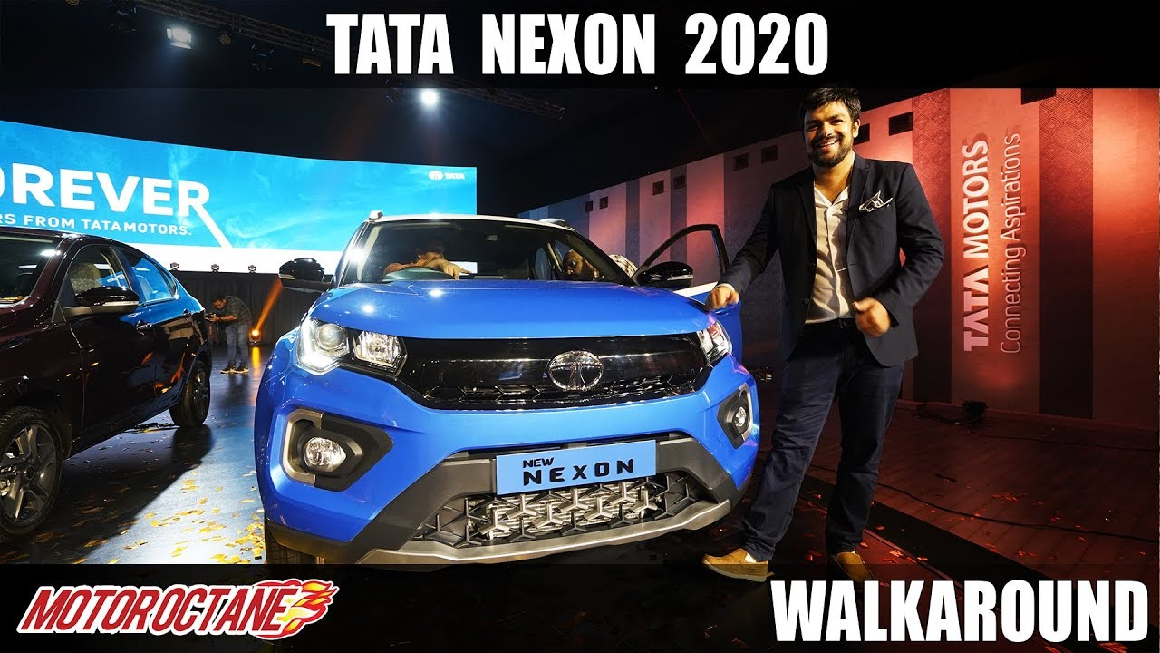 Motoroctane Youtube Video - 2020 Tata Nexon BS6 Walkaround | Hindi | MotorOctane