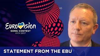 Statement from the EBU regarding Russia