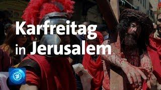 Karfreitag: Prozession In Jerusalem