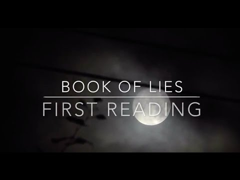 Book of Lies - first reading