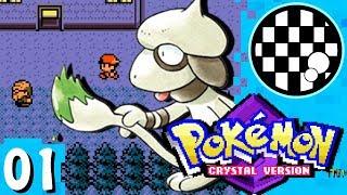 Smeargle  - (Pokémon) - 6 Smeargle Challenge: Pokemon Crystal | PART 1