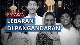 Momen Susi Pudjiastuti Berlebaran di Pangandaran dengan Keluarga dan Ucapan Selamat Idul Fitri