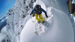 GoPro Line of the Winter: Nicolas Falquet - Switzerland 4.14.15 - Snow
