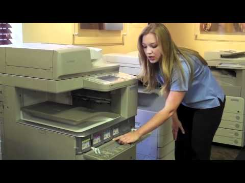 How to Replace Toner in your Canon ImageRUNNER Advance Color Copier