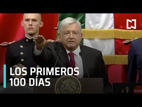 AMLO cumple 100 días como Presidente de México - Las Noticias