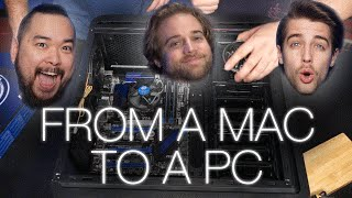 Helping Barret (our editor) build his PC!