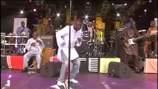 "Youssou N'Dour "" Birma"" Live 8, 2005"