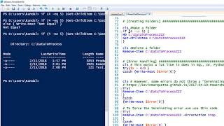 2 - Working with PowerShell to perform SQL tasks
