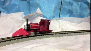 Skarloey with a Snowplough