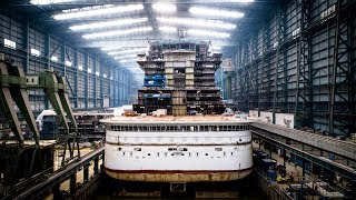 AIDAnova: Perfekte Hochzeit auf der Meyer Werft