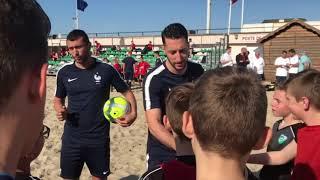 L'Equipe de France de Beach soccer au Touquet