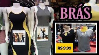 TOUR NO BRÁS• FEIRA DE ROUPAS NA RUA TIERS • MODA VERÃO #bras #brás #moda