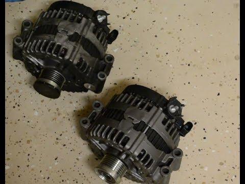 BMW 328i E92 Alternator Rattle Noise/Replace - смотреть