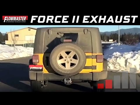 2007-11 Jeep Wrangler JK 3.8L - Install: Force II Axle-back Exhaust System 817437