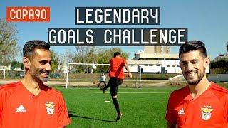 Benfica Legendary Goals Challenge Ft Jonas & Pizzi | European Nights