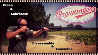 How To Clean & Lubricate A Mossberg 590 & 500 Series Shotgun (HD)