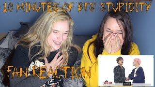 10 Minutes Of BTS' Stupidity (Fan Reaction)