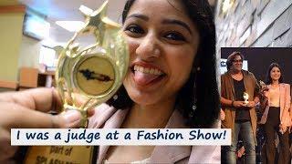 I WAS A JUDGE AT A FASHION SHOW😍| SONIA GARG|