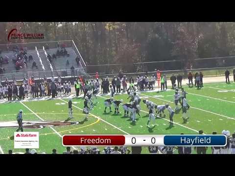 Nov 17 Freedom vs Hayfield