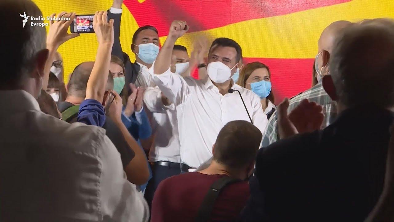Βόρεια Μακεδονία: Το κόμμα του Ζάεφ νικητής των βουλευτικών εκλογών