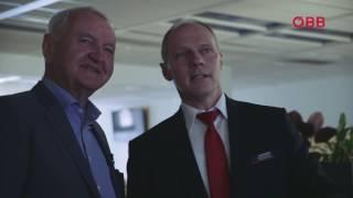 Perspektivenwechsel: ÖBB Vorstand Josef Halbmayr bei der Verkehrsleitung Schiene