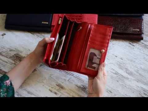 Кожаный женский кошелек Desisan