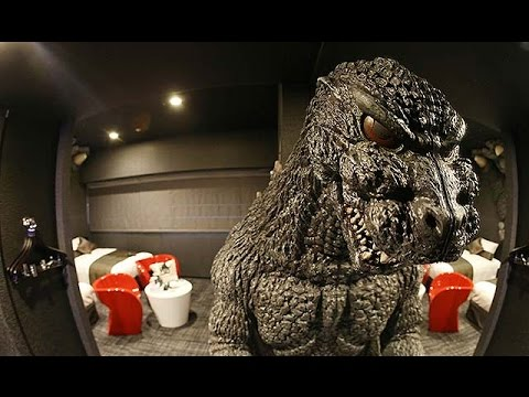 First Look Inside Tokyos New Godzilla Hotel Kotaku Australia
