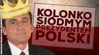 Mariusz Max Kolonko spełnił wolę narodu i mianował się prezydentem!
