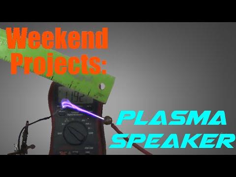 Weekend Projects: Make a 100KV Singing Arc Plasma Speaker Flyback