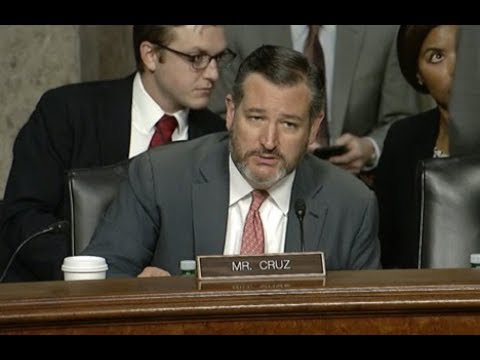 Sen. Cruz's Q&A at Commerce Hearing on Policy Principles for a Federal Data Privacy Framework