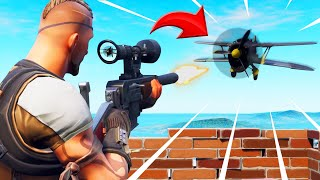 SNIPERS Vs. PLANES Game Mode IN FORTNITE! (Battle Royale)