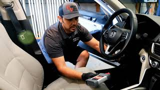 Perfect Vision Auto Glass windshield replacement and calibration on Honda Accord