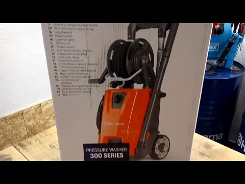 Pressure Washer Husqvarna PW 350 NOVELTY!UNBOXING!