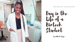 Day In The Life Of A Biotechnology Student! (CHINESE SUB)  Studying In Malaysia.